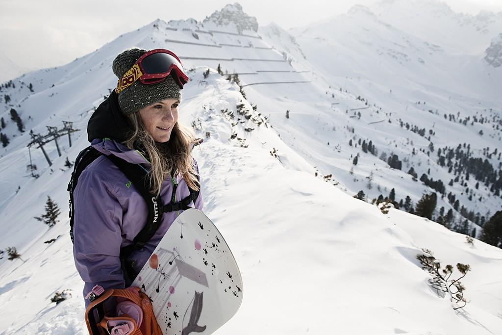 Freeriden im Skigebiet Schlick 2000