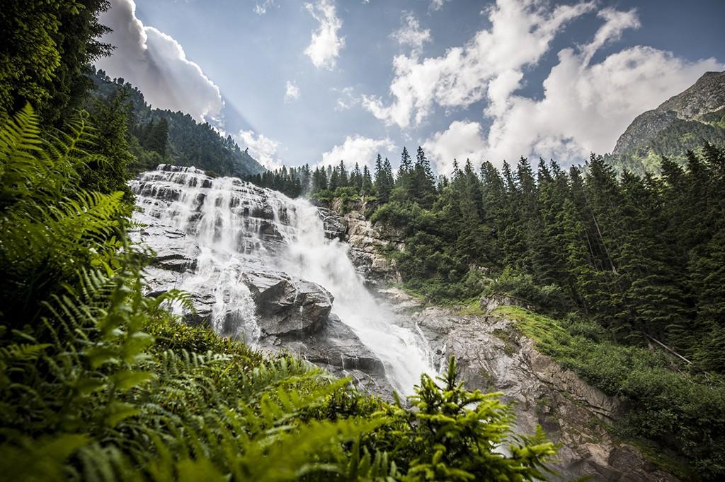 Der mächtige Grawa Wasserfall