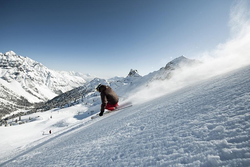 Skifahren Schlick 2000