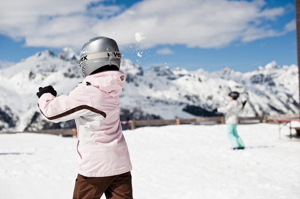 Wintervergnügen für die Kleinen am Elfer