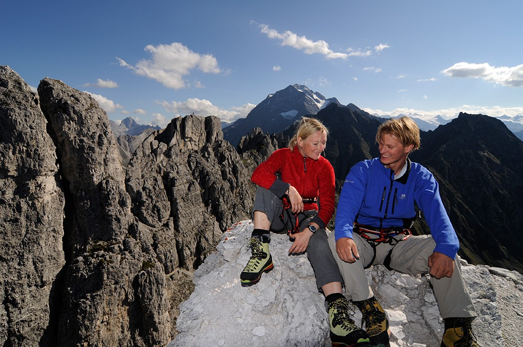 Klettersteig Elfer im Stubaital