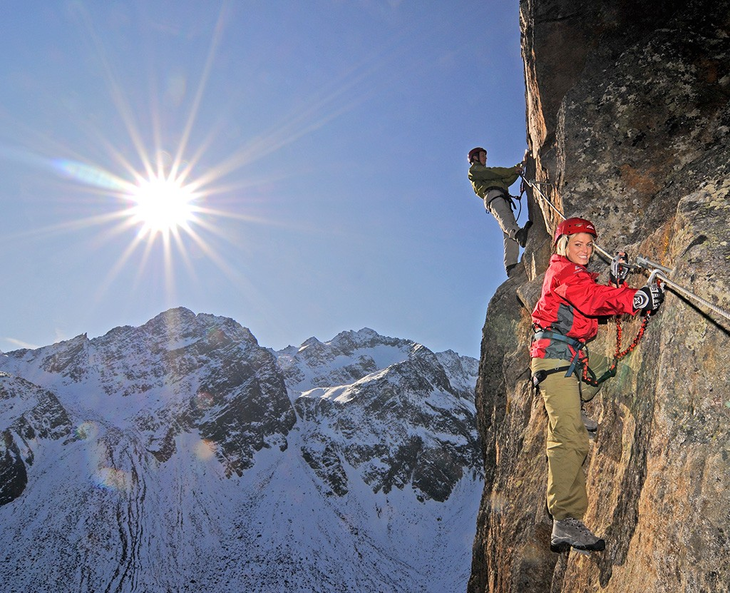 Stubaital Klettern